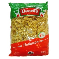 """Fideos Tirabuzón """"LIVORNO""""..."""