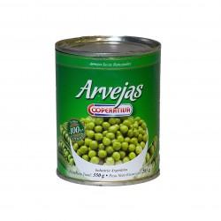 "Arvejas ""Cooperativa"" en lata"