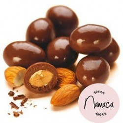 Almendra con chocolate...