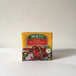 """Puré de tomate """"Molto"""" x520 gr"""
