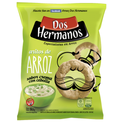 Snacks de Arroz Aros Crema...