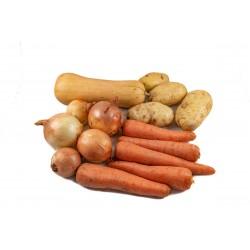 Bolsón de verduras pesadas...