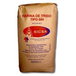 "Harina 000 ""Sicsa"" 1 kgr"